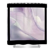 Flowers Abstract Triptych Shower Curtain
