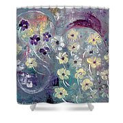 Flowers And Dreams 5 Shower Curtain