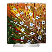 Flowers Field Shower Curtain