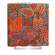 Flowers For Fleet Foxes Shower Curtain