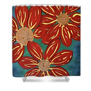 Flowers For M Shower Curtain