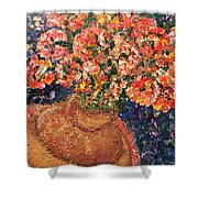 Flowers For Mary Shower Curtain