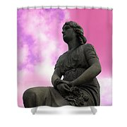 Flowers For Peace Shower Curtain