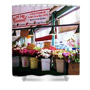 Flowers For Sale Shower Curtain