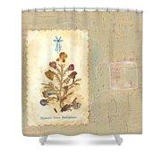 Flowers From Bethlehem  Shower Curtain