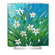 Flowers From Nature Shower Curtain