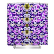 Flowers From Sky Bringing Love And Life Shower Curtain