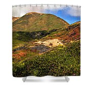 Flowers Growing Wild Shower Curtain