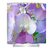 Flowers Hydrangeas Art Prints Floral Garden Baslee Troutman Shower Curtain