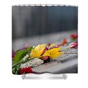 Flowers Memory Shower Curtain
