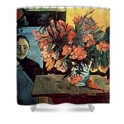 Flowers Of France Shower Curtain