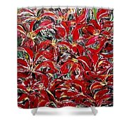 Flowers Of Reinforest Shower Curtain