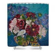 Flowers Of Remembrance Shower Curtain