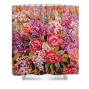 Flowers Of Romance Shower Curtain