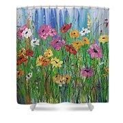 Flowers Of Summer Shower Curtain