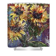 Flowers Of The Gods Shower Curtain