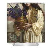 Flowers Of The Levant  Shower Curtain