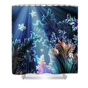 Flowers Of The Sea Shower Curtain