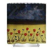 Flowers On Arran Shower Curtain