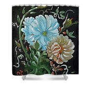 Flowers Surreal Shower Curtain