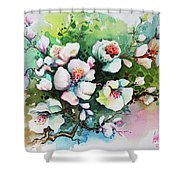 Flowers_011 Shower Curtain