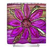 Flowerscape Dahlia Shower Curtain