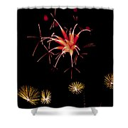 Flowerworks #10 Shower Curtain