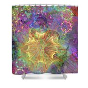 Flowerworks Shower Curtain