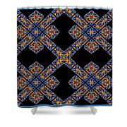 Flowing Abstact Shower Curtain