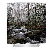 Flowing Shower Curtain