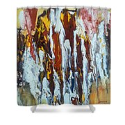 Flowing Colors Shower Curtain