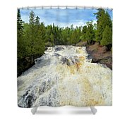 Flowing East Shower Curtain