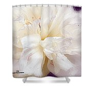 Flowing Floral Shower Curtain