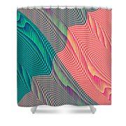 Flowing Mysteries Shower Curtain
