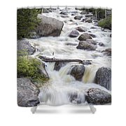 Flowing River #1 Shower Curtain