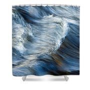 Flowing River Water Shower Curtain