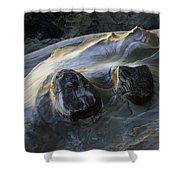Flowing Rock 2 Shower Curtain