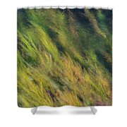 Flowing Textures Shower Curtain