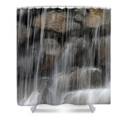 Flowing Veil Shower Curtain
