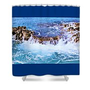 Flowing Water In The Cayman Islands # 4 Shower Curtain