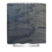 Flowing Waves  Shower Curtain