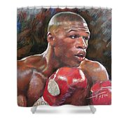 Floyd Mayweather Jr Shower Curtain