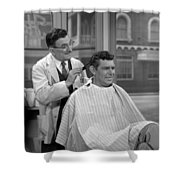 Floyds Barbar Shop Andy Griffith Show Shower Curtain