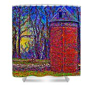 Floyd,virginia Tower Shower Curtain