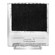 Fludds Dark Universe, 1617 Shower Curtain
