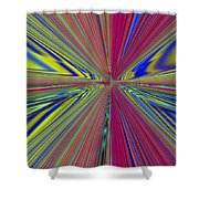 Fluid Motion Shower Curtain