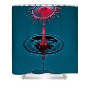 Fluid Parasol Shower Curtain by Susan Candelario