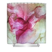 Fluid Rose Shower Curtain