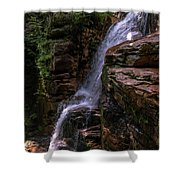 Flume Gorge Waterfall Shower Curtain