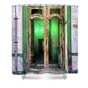 Fluorescent Shower Curtain